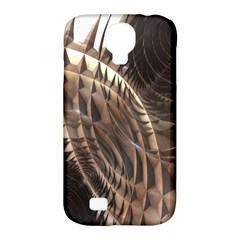 Copper Metallic Texture Abstract Samsung Galaxy S4 Classic Hardshell Case (PC+Silicone)