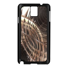Copper Metallic Texture Abstract Samsung Galaxy Note 3 N9005 Case (Black)