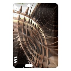 Metallic Copper Abstract Modern Art Kindle Fire HDX Hardshell Case