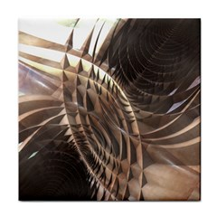 Metallic Copper Abstract Modern Art Face Towel