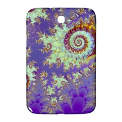 Sea Shell Spiral, Abstract Violet Cyan Stars Samsung Galaxy Note 8 0 N5100 Hardshell Case