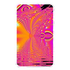 Magenta Boardwalk Carnival, Abstract Ocean Shimmer Memory Card Reader (rectangular)
