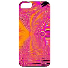 Magenta Boardwalk Carnival, Abstract Ocean Shimmer Apple Iphone 5 Classic Hardshell Case