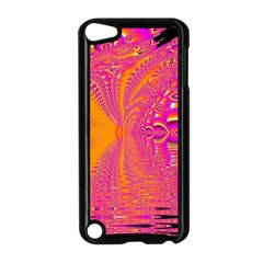 Magenta Boardwalk Carnival, Abstract Ocean Shimmer Apple Ipod Touch 5 Case (black)