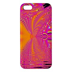 Magenta Boardwalk Carnival, Abstract Ocean Shimmer Apple Iphone 5 Premium Hardshell Case