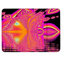 Magenta Boardwalk Carnival, Abstract Ocean Shimmer Samsung Galaxy Tab 7  P1000 Flip Case