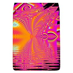 Magenta Boardwalk Carnival, Abstract Ocean Shimmer Removable Flap Cover (large)