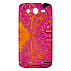 Magenta Boardwalk Carnival, Abstract Ocean Shimmer Samsung Galaxy Mega 5.8 I9152 Hardshell Case