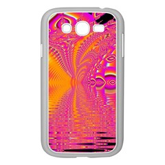 Magenta Boardwalk Carnival, Abstract Ocean Shimmer Samsung Galaxy Grand Duos I9082 Case (white)