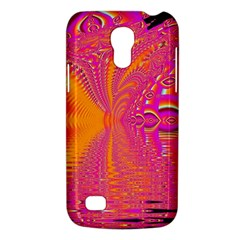 Magenta Boardwalk Carnival, Abstract Ocean Shimmer Samsung Galaxy S4 Mini (GT-I9190) Hardshell Case