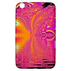 Magenta Boardwalk Carnival, Abstract Ocean Shimmer Samsung Galaxy Tab 3 (8 ) T3100 Hardshell Case