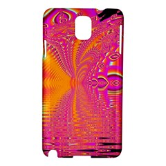 Magenta Boardwalk Carnival, Abstract Ocean Shimmer Samsung Galaxy Note 3 N9005 Hardshell Case