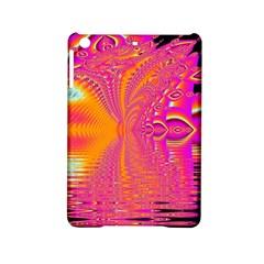Magenta Boardwalk Carnival, Abstract Ocean Shimmer Apple iPad Mini 2 Hardshell Case