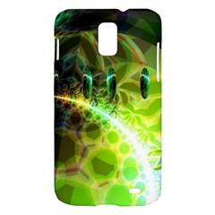 Dawn Of Time, Abstract Lime & Gold Emerge Samsung Galaxy S II Skyrocket Hardshell Case