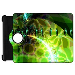 Dawn Of Time, Abstract Lime & Gold Emerge Kindle Fire HD 7  (1st Gen) Flip 360 Case