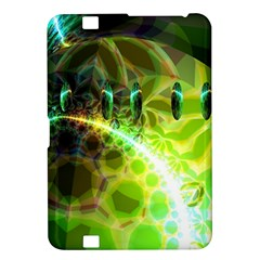 Dawn Of Time, Abstract Lime & Gold Emerge Kindle Fire HD 8.9  Hardshell Case