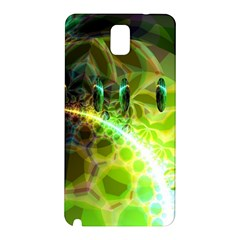 Dawn Of Time, Abstract Lime & Gold Emerge Samsung Galaxy Note 3 N9005 Hardshell Back Case