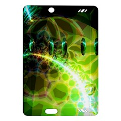 Dawn Of Time, Abstract Lime & Gold Emerge Kindle Fire HD 7  (2nd Gen) Hardshell Case