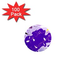 Life With Fibro2 1  Mini Button Magnet (100 pack)
