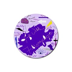 Life With Fibro2 Drink Coaster (round)