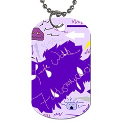 Life With Fibro2 Dog Tag (One Sided)