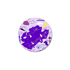 Life With Fibro2 Golf Ball Marker 4 Pack