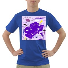 Life With Fibro2 Men s T-shirt (Colored)