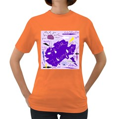 Life With Fibro2 Women s T-shirt (Colored)