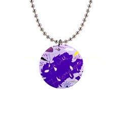Life With Fibro2 Button Necklace