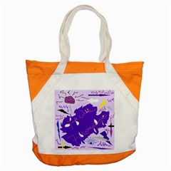 Life With Fibro2 Accent Tote Bag
