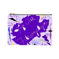 Life With Fibro2 Cosmetic Bag (large)