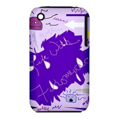 Life With Fibro2 Apple Iphone 3g/3gs Hardshell Case (pc+silicone)