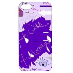 Life With Fibro2 Apple iPhone 5 Hardshell Case with Stand