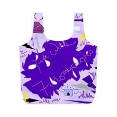 Life With Fibro2 Reusable Bag (m)