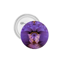 Artsy Purple Awareness Butterfly 1 75  Button