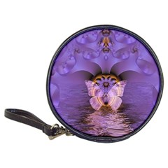 Artsy Purple Awareness Butterfly CD Wallet