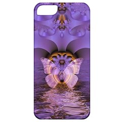 Artsy Purple Awareness Butterfly Apple Iphone 5 Classic Hardshell Case