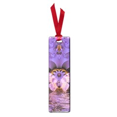 Artsy Purple Awareness Butterfly Small Bookmark
