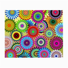 Psychedelic Flowers Glasses Cloth (Small)