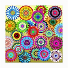 Psychedelic Flowers Canvas 16  x 16  (Unframed)
