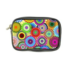 Psychedelic Flowers Coin Purse
