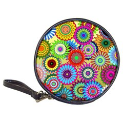 Psychedelic Flowers Cd Wallet