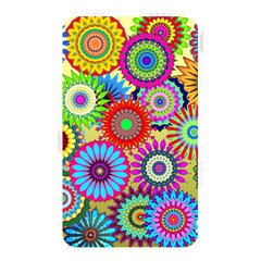 Psychedelic Flowers Memory Card Reader (Rectangular)