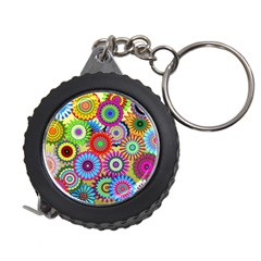 Psychedelic Flowers Measuring Tape