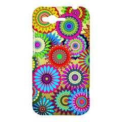 Psychedelic Flowers HTC Rhyme Hardshell Case