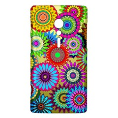 Psychedelic Flowers Sony Xperia ion Hardshell Case