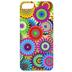 Psychedelic Flowers Apple Iphone 5 Classic Hardshell Case