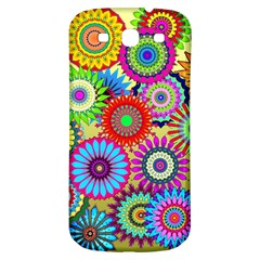 Psychedelic Flowers Samsung Galaxy S3 S Iii Classic Hardshell Back Case