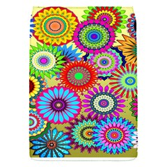 Psychedelic Flowers Removable Flap Cover (Small)
