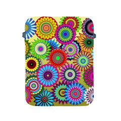 Psychedelic Flowers Apple iPad Protective Sleeve
